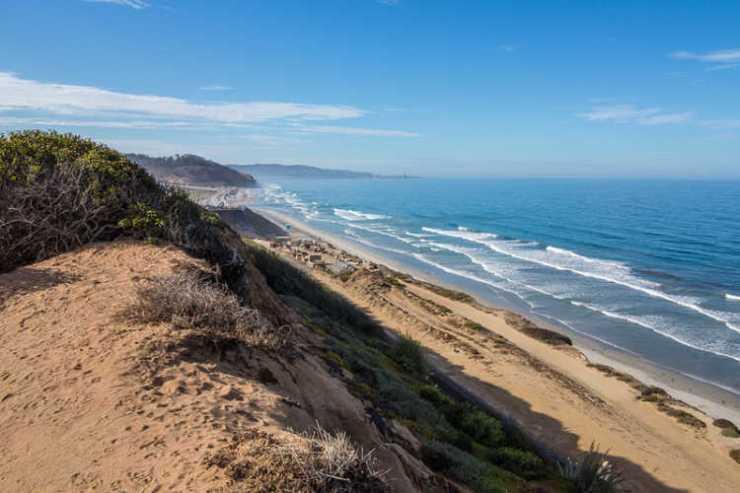 Del Mar ocean view bluff