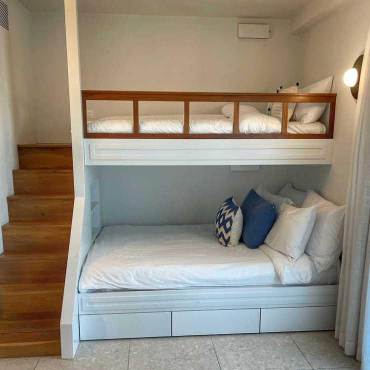 Bunk beds at Cretan Malia Park family suite
