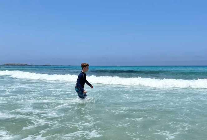 Falarssana Beach Crete-Kids Are A Trip