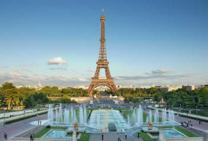 Paris Eiffel Tower view-Kids Are A Trip
