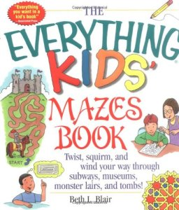 road trip activities for kids maze book-kids are a trip