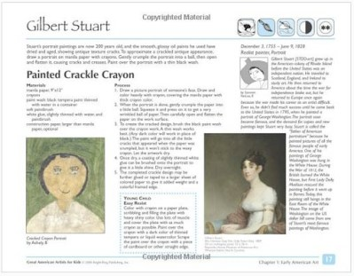 Great American Artists for Kids Gilbert Stuart