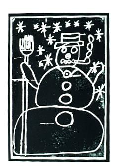 snowmanprint