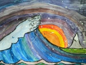 Hokusai's Wave variation