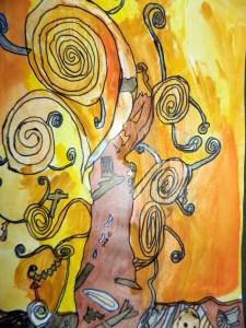 Tree of Life – Klimt style