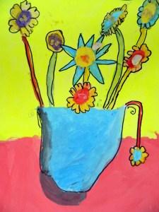 Van Gogh's Sunflowers variation