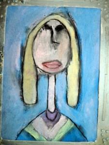 Amadeo Modigliani style