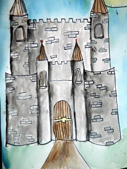 JMW Turner inspired castle
