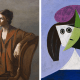 Portrait of Olga Picasso & Woman in a Hat (Olga)