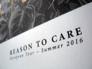 Reason To Care, Riso Print