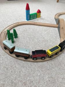 trains and carriages
