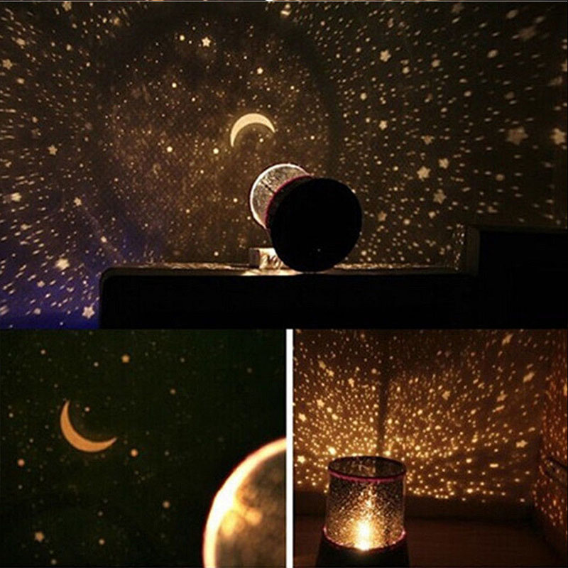 Romantic Sky Star Master Led Night Light Projector Lamp