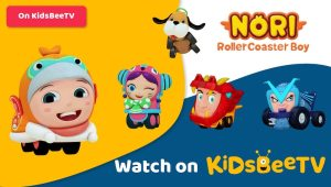 Featured Image of 3d animated series Nori Rollercoaster Boy comes rolling to KidsBeeTV | Parents and Kids Blog Article | utube kids | safe utube