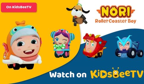 3D animated series Nori Rollercoaster Boy comes rolling to KidsBeeTV