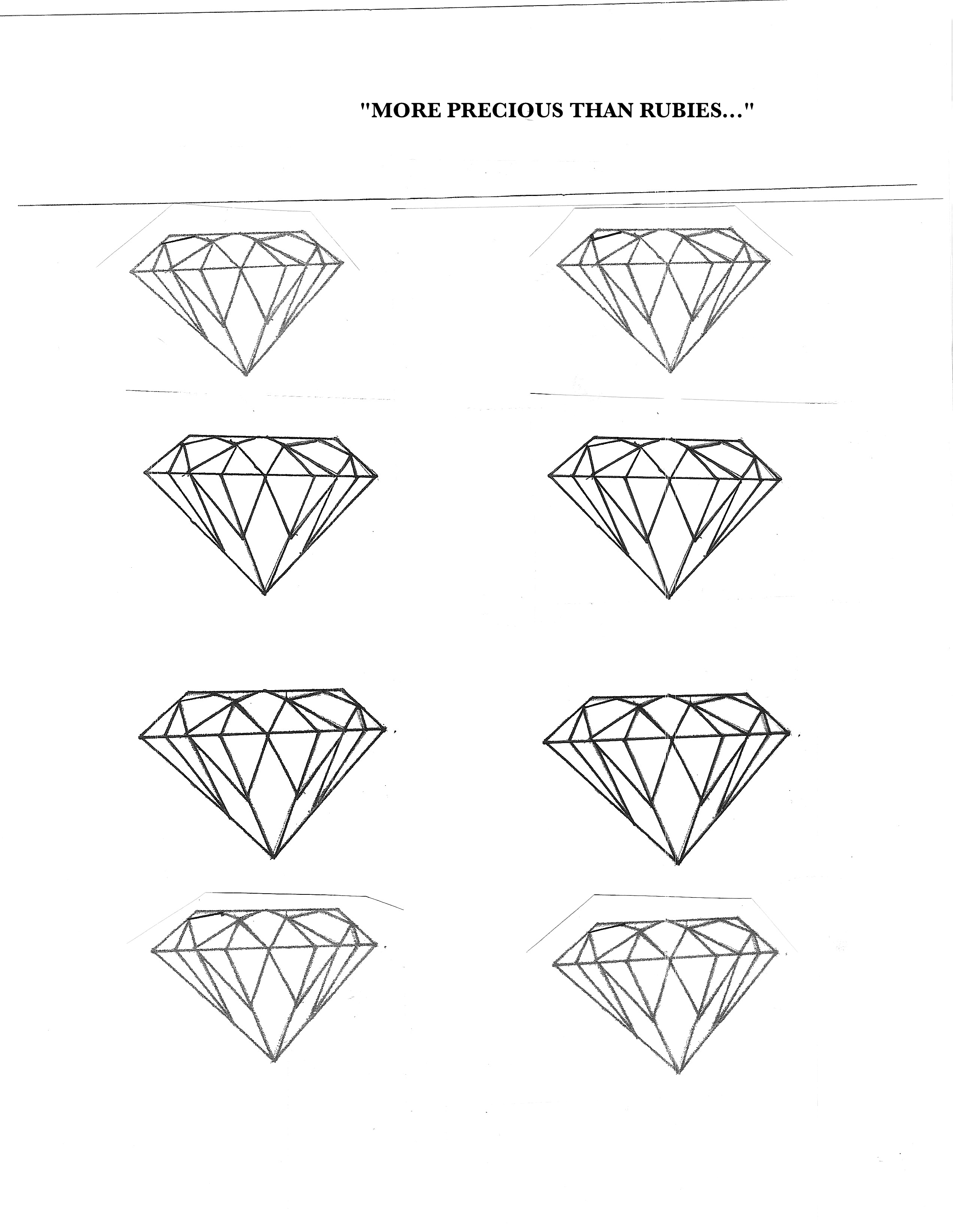 Gem Coloring Sheets Coloring Pages