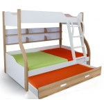 Columbia Bunk With Trundle Bed Kids Bunk Beds Online Shopping India Bunk Beds For Twin Toddlers