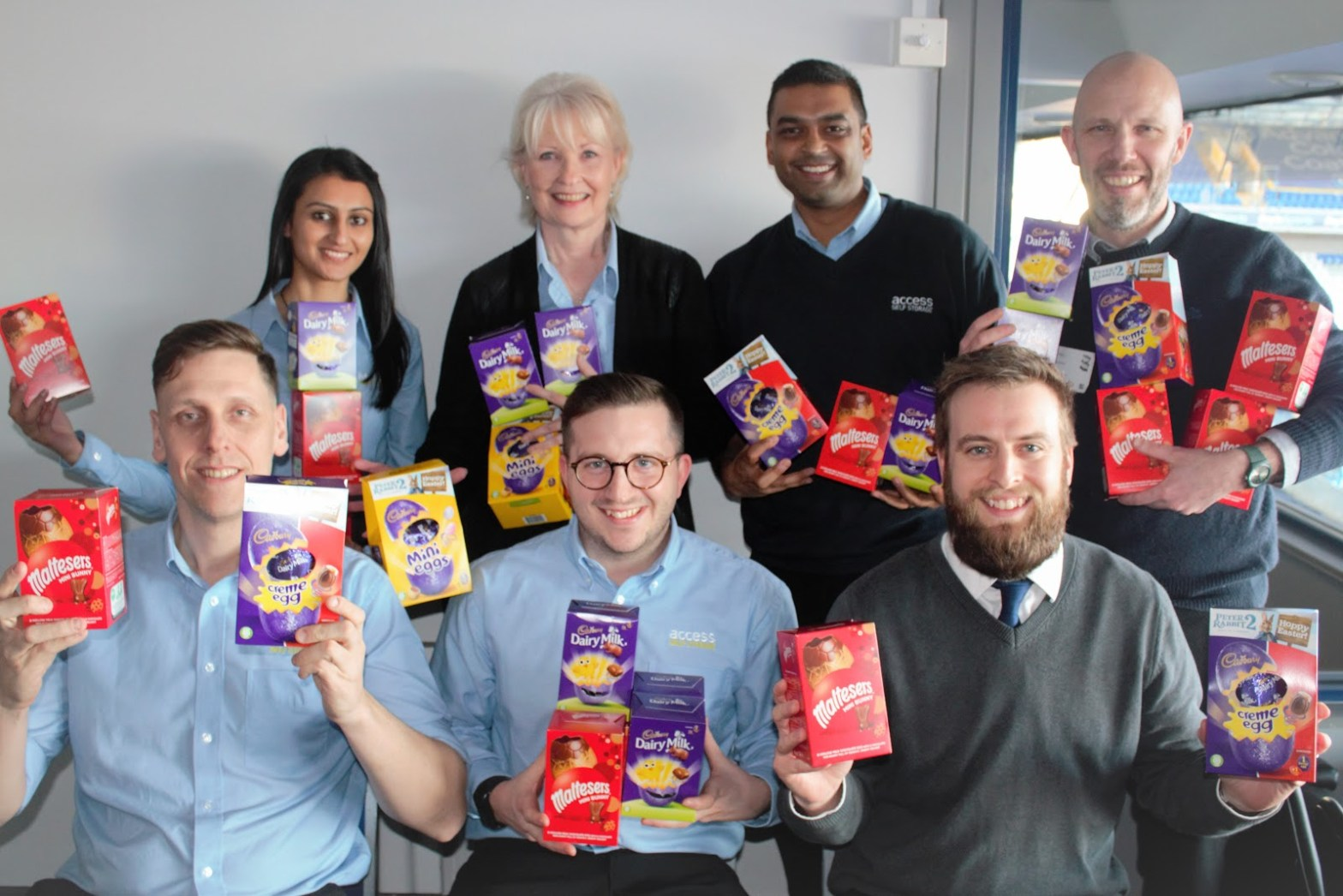 Access Self Storage Easter Egg collection