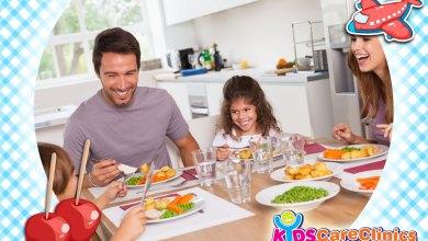 التدخل السلوكي و علاج سلوك الطفل أثناء الأكل