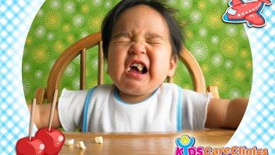 مشاكل الأكل عند الأطفال من سن 10-12 شهور
