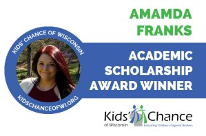 kidschanceofwisconsin-scholarship-award-amanda-franks