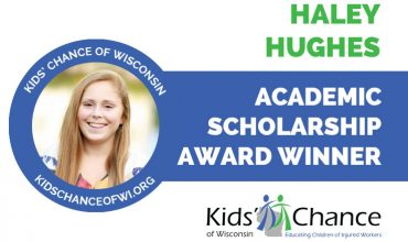 kidschanceofwisconsin-scholarship-award-haley-hughes