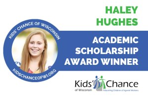 kidschanceofwisconsin-scholarship-award-haley-hughes