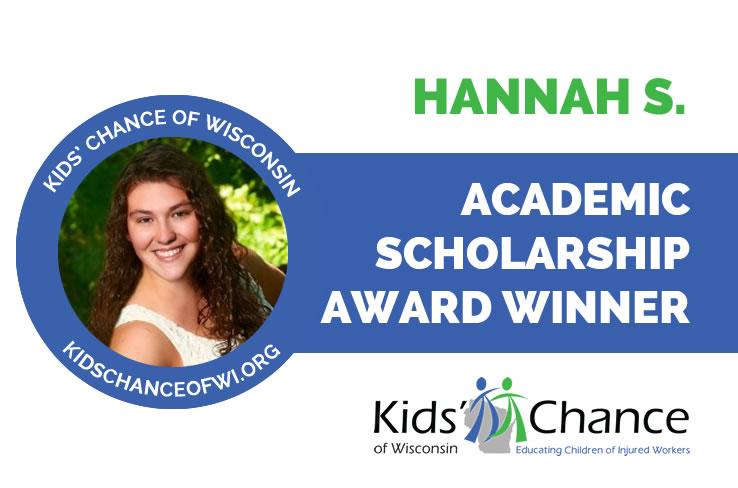 kidschanceofwisconsin-scholarship-award-hannah-s
