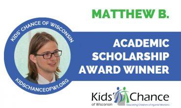 kidschanceofwisconsin-scholarship-awardED-mattew-b