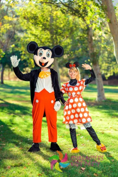Mickie&Minnie Mouse