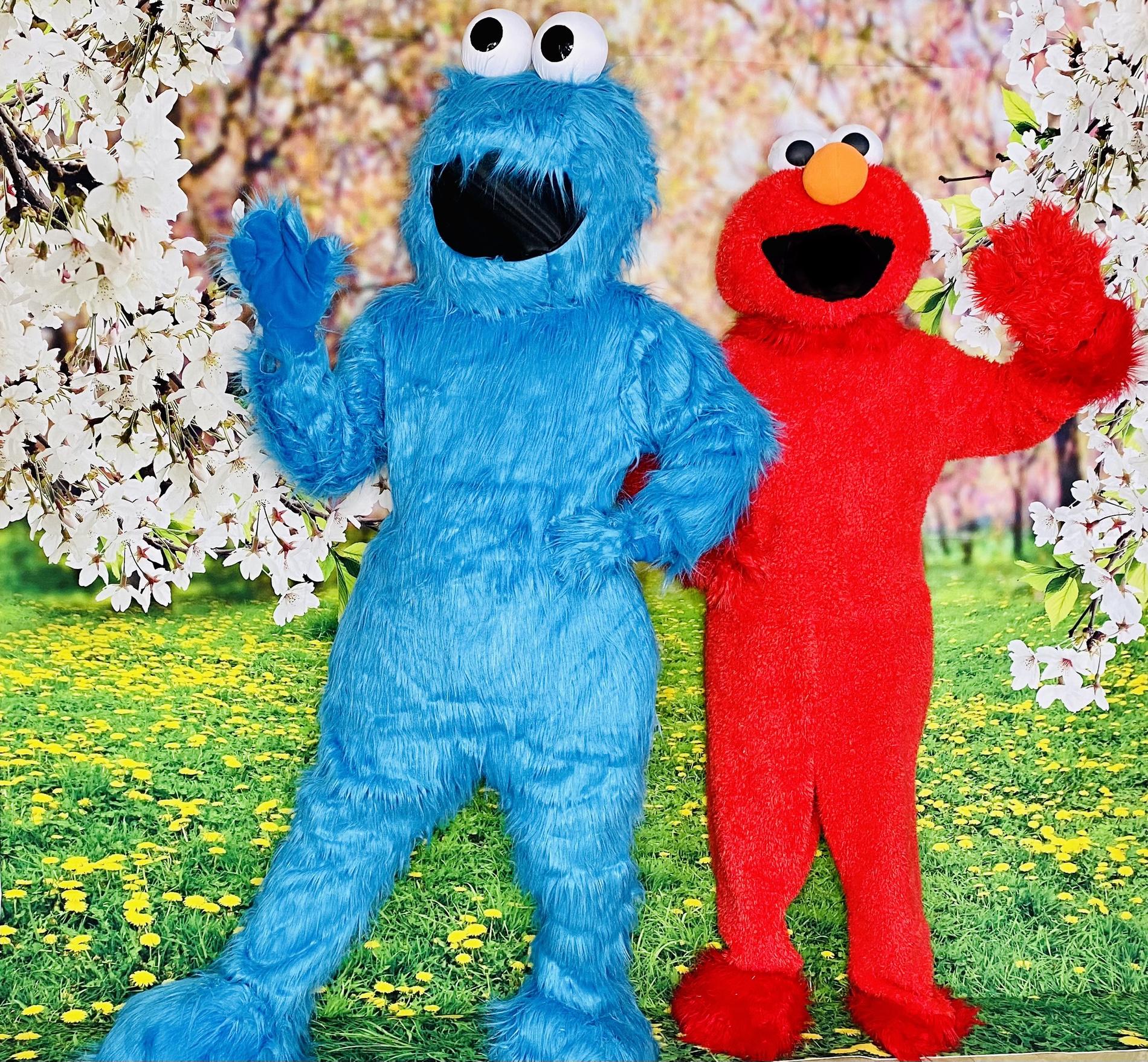 Red&Blue Monster