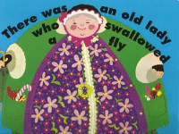 There was an old lady who swallowed a fly book cover - link to story resources page