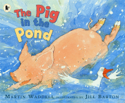 The Pig in the Pond book cover - link to story resources page
