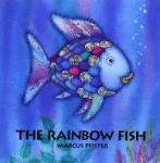 The Rainbow fish book cover - link to story resources page