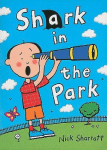Shark in the Park book cover - link to story resources page