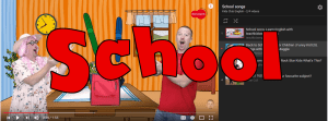 School songs page