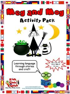 Meg and Mog Activity Pack - Kids Club English - Learn English through stories