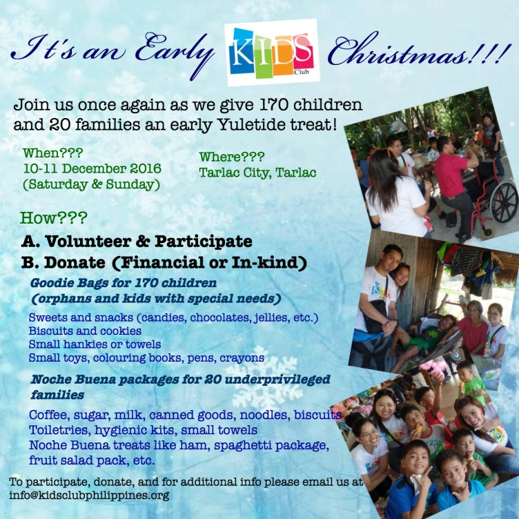 KIDS Club Christmas