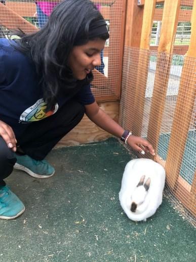 KCT kids with bunny