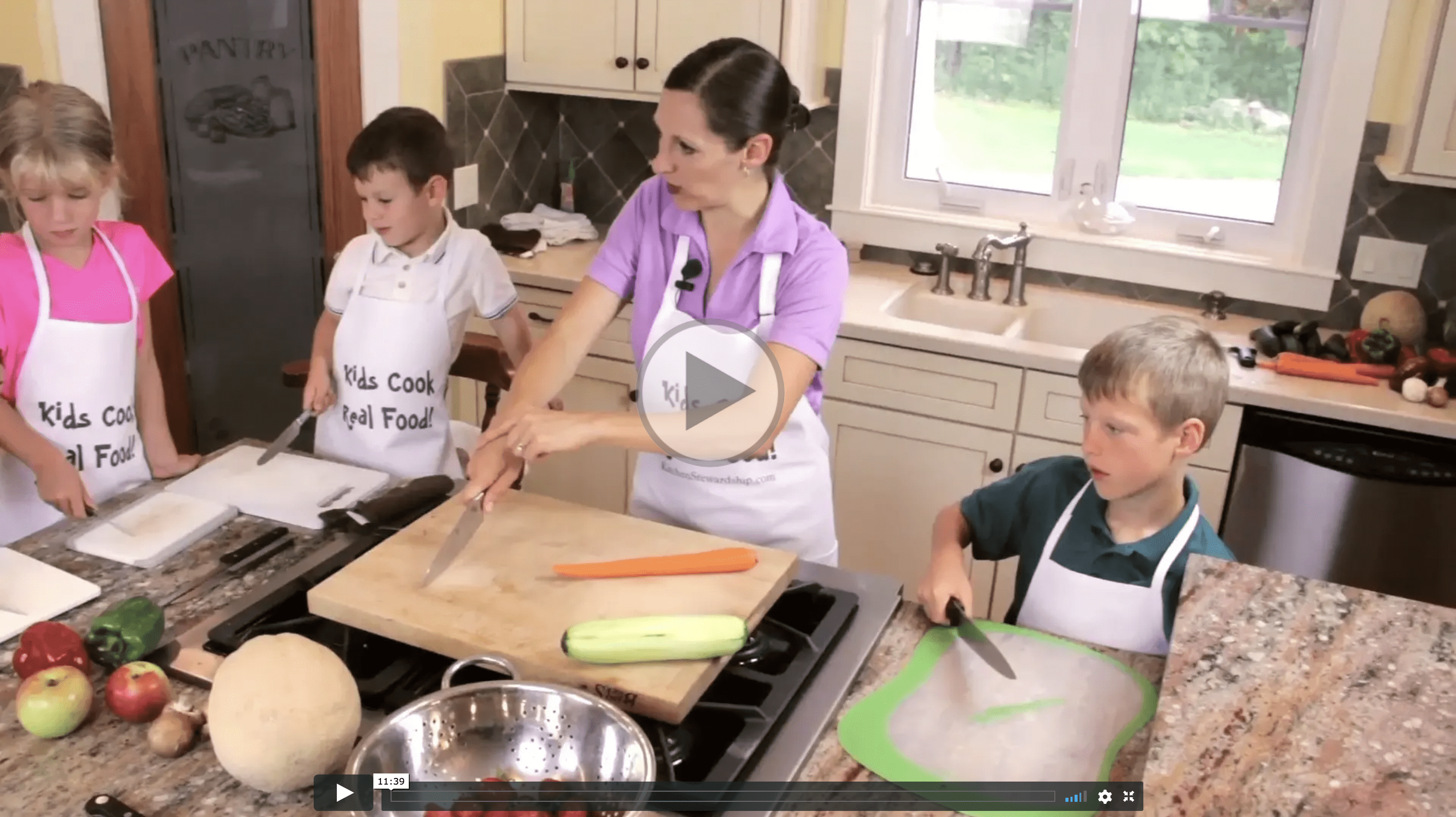 Best Online Video Cooking Lessons for Kids    Kids Cook Real Food Kids Cook Real Food preview video