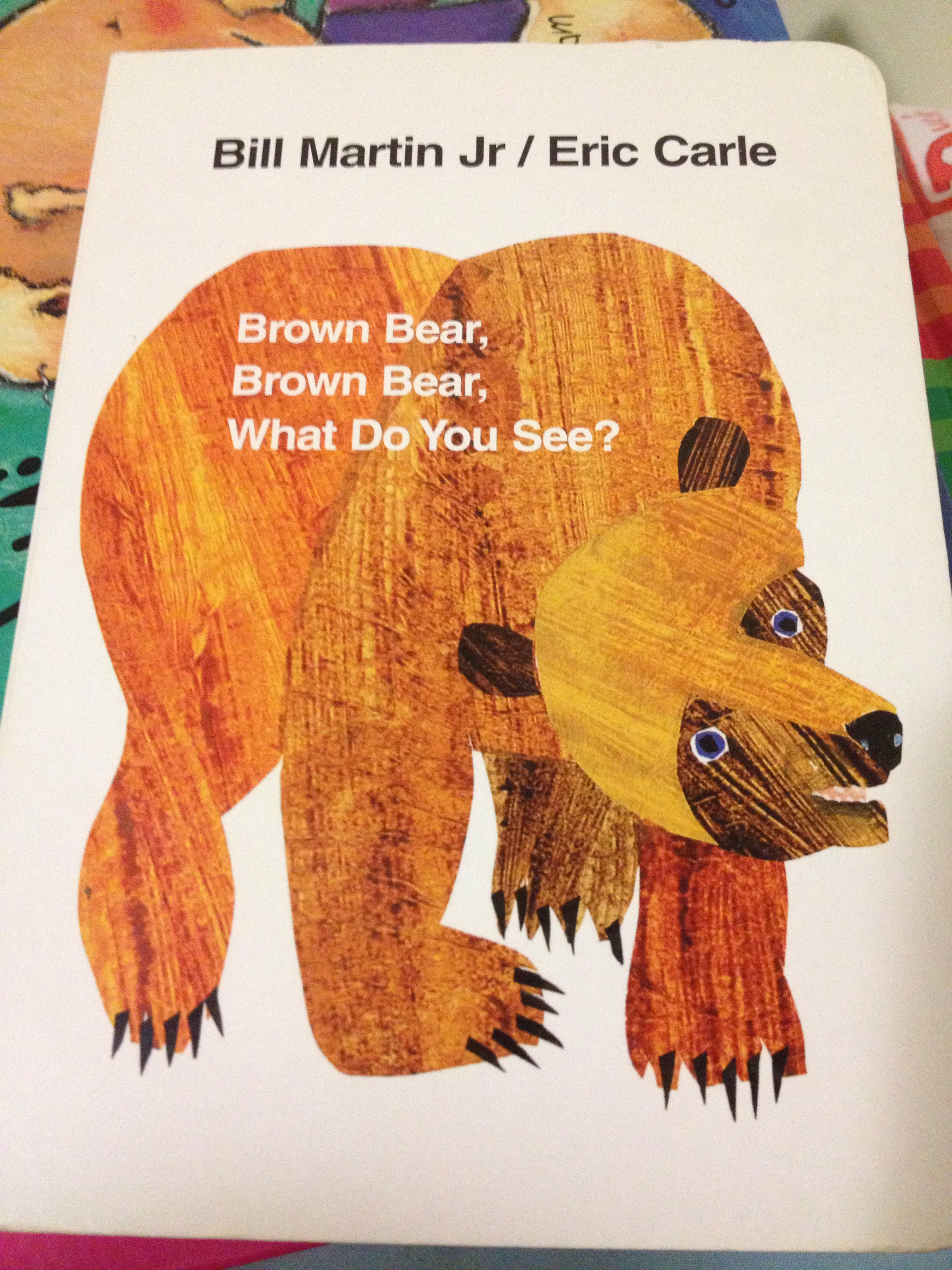 Book Review Brown Bear Brown Bear What Do You See
