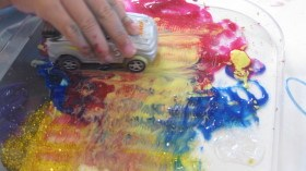 toy-car-tactile-painting