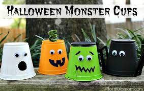 halloween-monster-cups