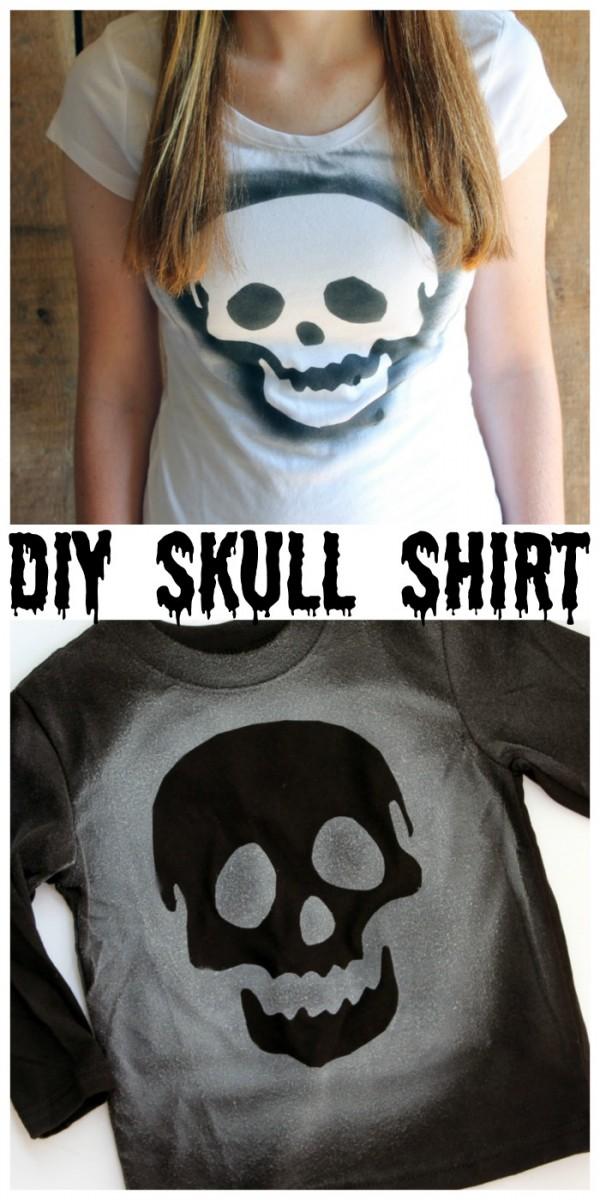 diy-skull-shirt
