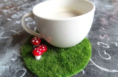 DIY Fairy Garden Coaster