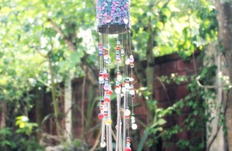 Recycled Tin Can Wind Chime Tutorial