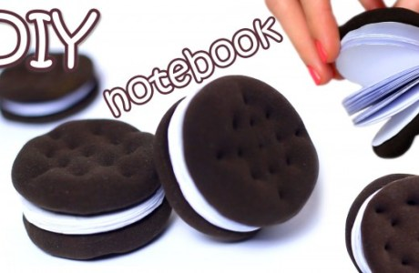DIY Oreo Cookie Notepad Video