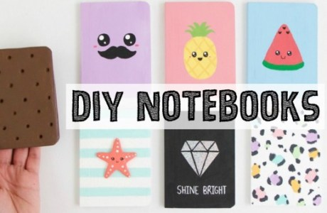 DIY Notebooks Video
