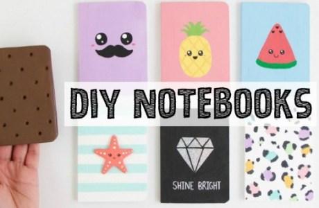 DIY Notebooks Video