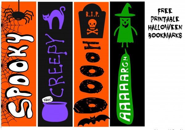4-free-halloween-bookmarks-kids-craft-activity Jewelry Newsletter Templates on classroom weekly, microsoft word, free printable monthly, fun company, free office,
