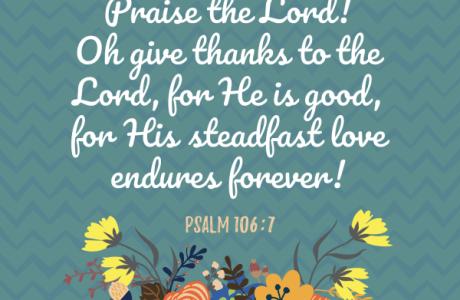 Thanksgiving Psalm Printables